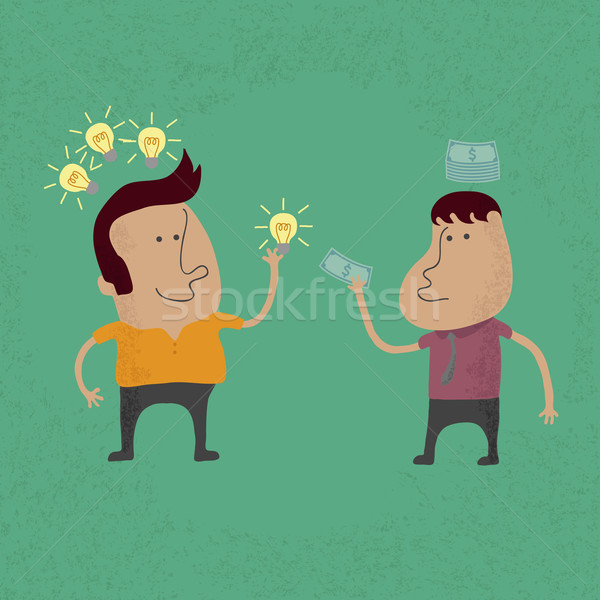Sell ​​the idea , eps 10 vector format Stock photo © ratch0013