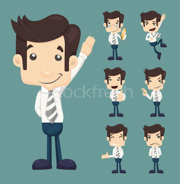 Ingesteld zakenman eps10 vector formaat Stockfoto © ratch0013
