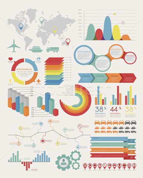 Infographic Elements Stock photo © ratch0013