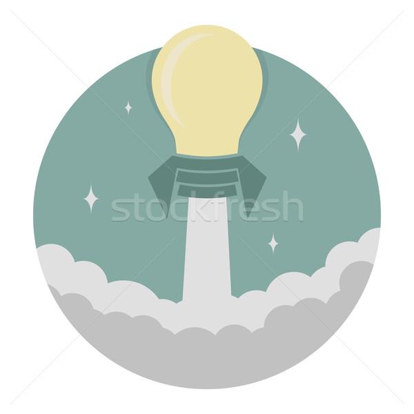 Poder pensando éxito eps10 vector formato Foto stock © ratch0013