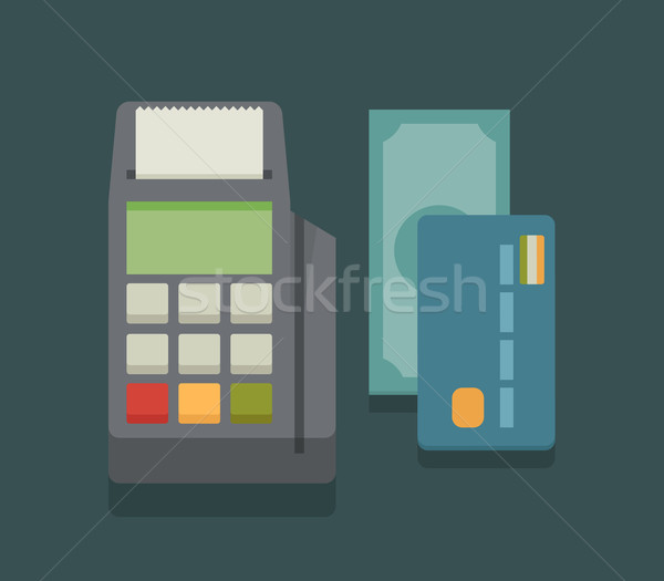 Ontwerp eps10 vector formaat business winkelen Stockfoto © ratch0013