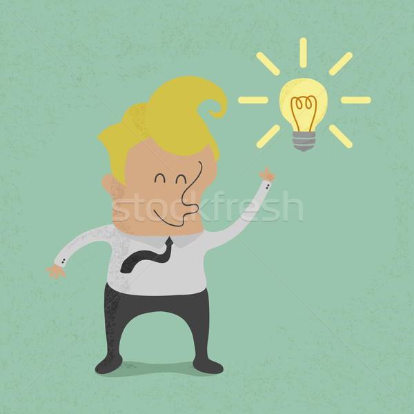 Business get idea , eps10 vector format Stock photo © ratch0013