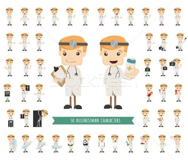 Ingesteld arts eps10 vector formaat Stockfoto © ratch0013
