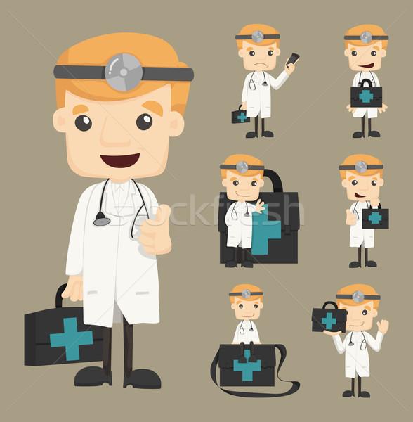 Médecin eps10 vecteur format Photo stock © ratch0013