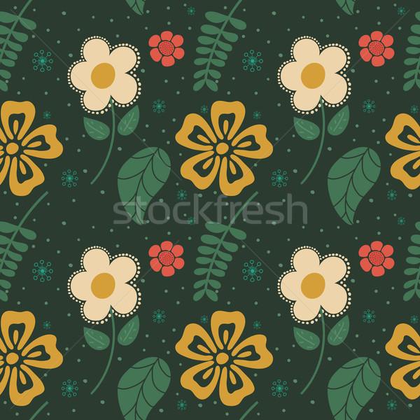 Bloemen eps10 vector formaat liefde Stockfoto © ratch0013