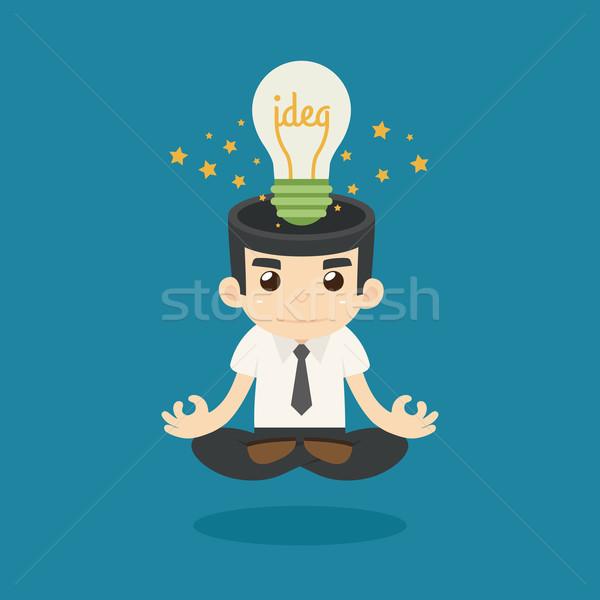 Zakenman idee eps10 vector formaat business Stockfoto © ratch0013