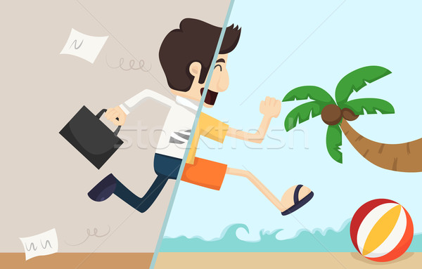 Businessman relax Stock photo © ratch0013