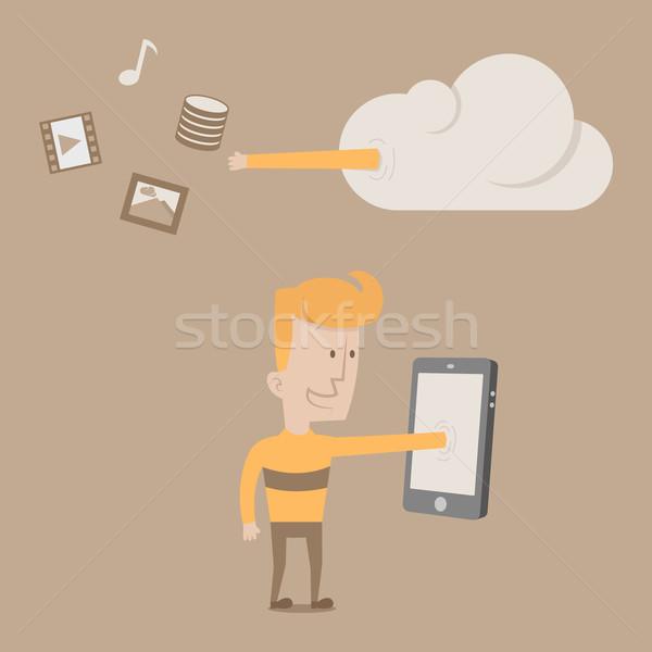 Intelligent eps10 vector formaat business Stockfoto © ratch0013