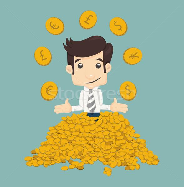 Businessman wealth Stock photo © ratch0013