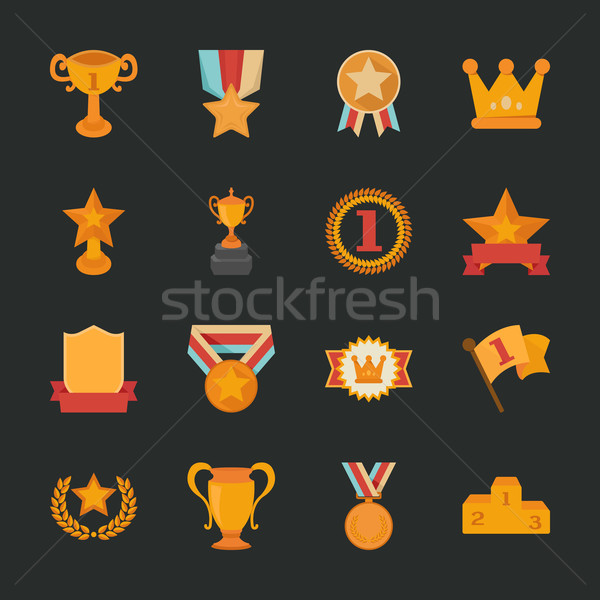 Iconos diseno eps10 vector formato Foto stock © ratch0013