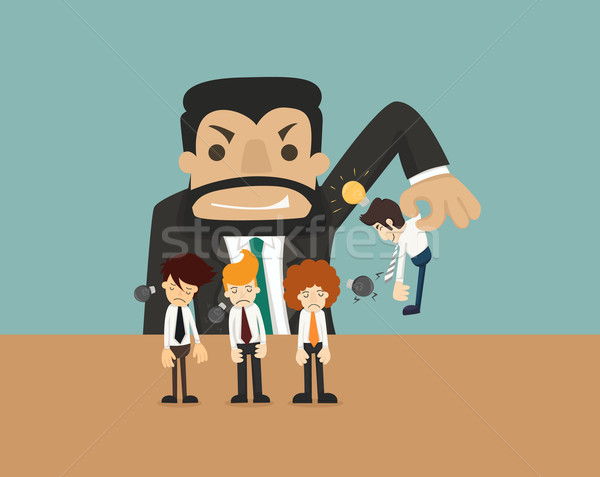 Empresario idea eps10 vector formato Foto stock © ratch0013