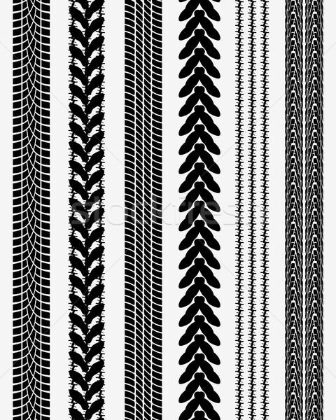prints of tire cars Stock photo © ratkom