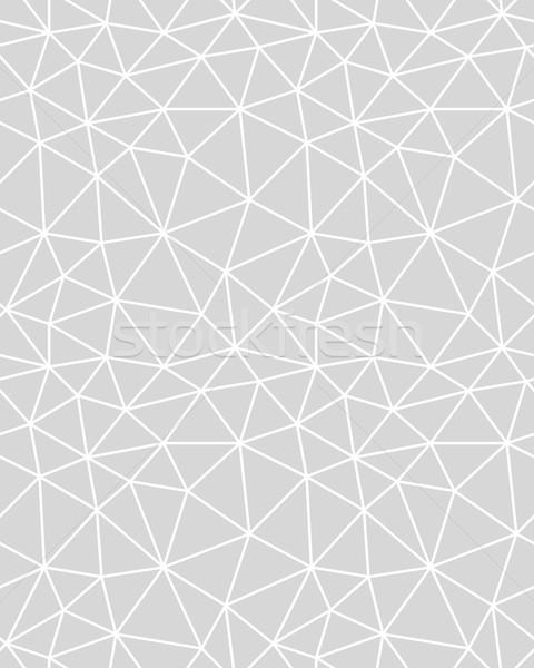 Seamless polygonal pattern  Stock photo © ratkom