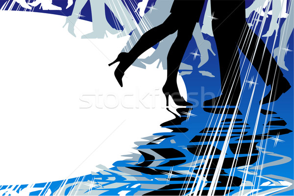 Dancing or music background Stock photo © ratselmeister