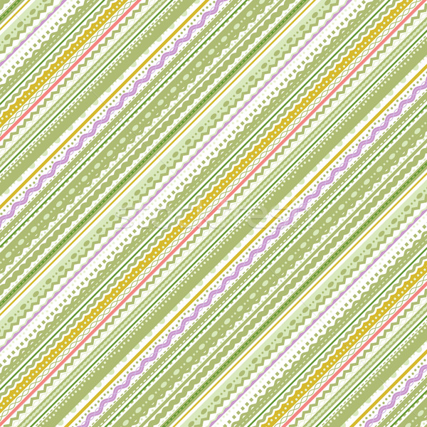 Stripes and laces green and white background Stock photo © ratselmeister