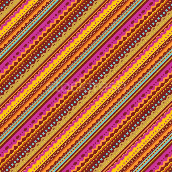 Stripes and laces background of autumn colors  Stock photo © ratselmeister