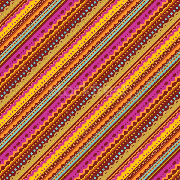 Outono cores diagonal padrão Foto stock © ratselmeister