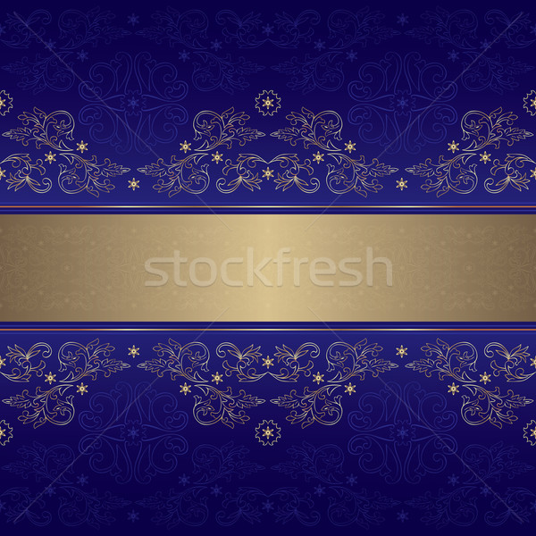шаблон цветочный фиолетовый вектора Сток-фото © Ray_of_Light