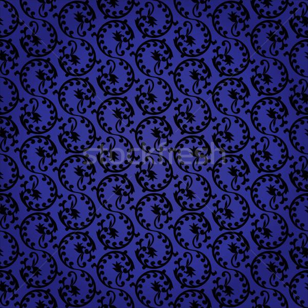 Klasszikus végtelen minta vektor papír textúra divat Stock fotó © Ray_of_Light