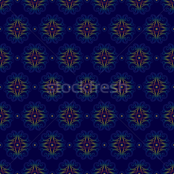 floral vintage seamless pattern Stock photo © Ray_of_Light