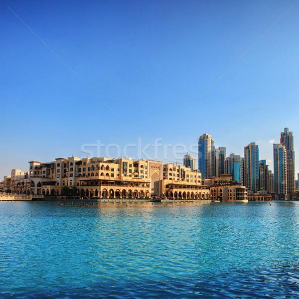 UAE. Downtown Dubai skyline. Stock photo © Ray_of_Light