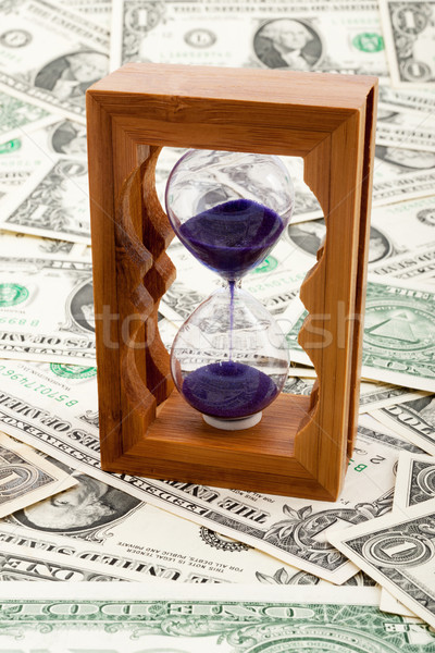 Hourglass Stock photo © raywoo