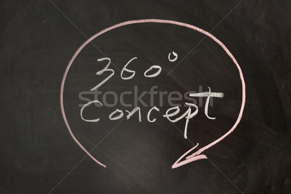 360 degree concept Stock photo © raywoo