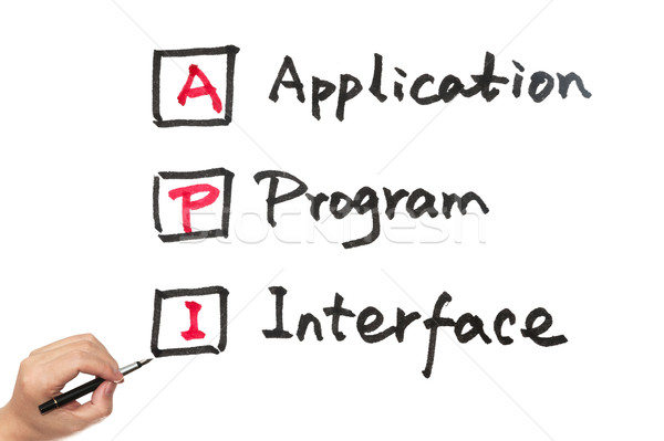 API - Application program interface Stock photo © raywoo