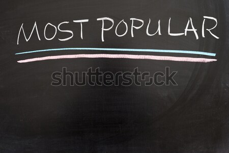 Akciók ma szavak írott tábla felirat Stock fotó © raywoo