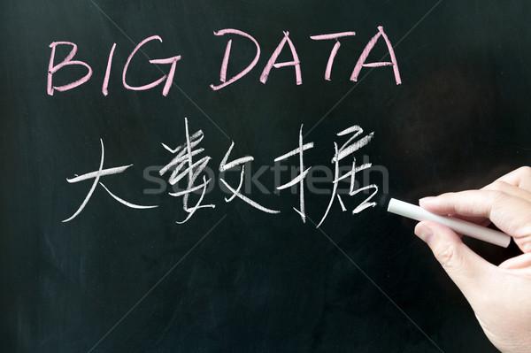 Big data Stock photo © raywoo
