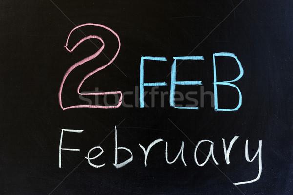 February Stock photo © raywoo