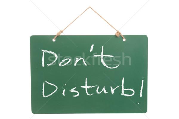 Don't disturb Stock photo © raywoo