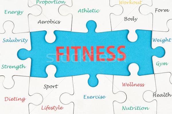 Сток-фото: фитнес · слов · группа · частей