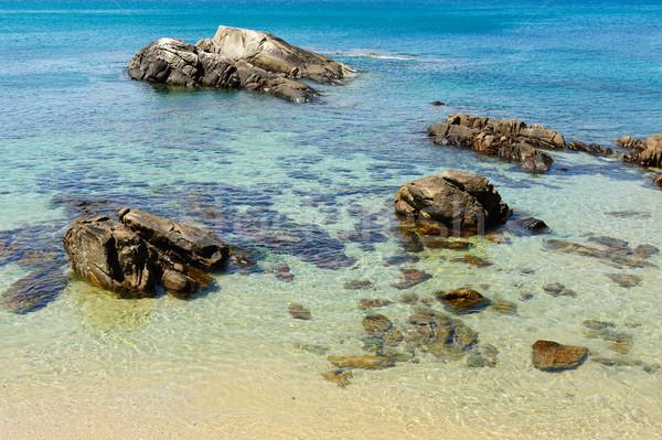 Plaj manzara phuket ada Tayland doğa Stok fotoğraf © raywoo