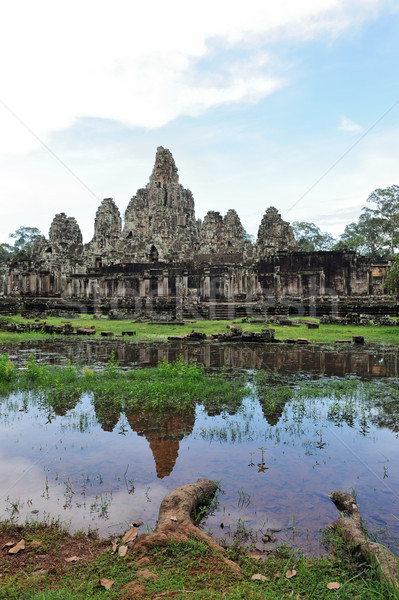 Cambodia - Angkor - Bayon temple Stock photo © raywoo