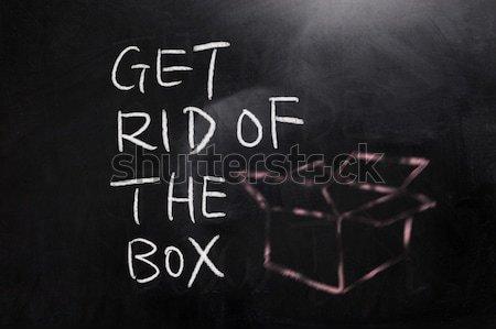 Idea and concept Stock photo © raywoo