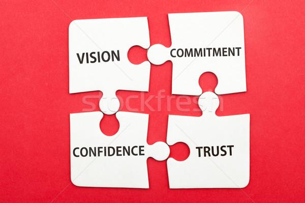 ビジネス チームワーク ビジョン コミットメント 信頼 ストックフォト © raywoo