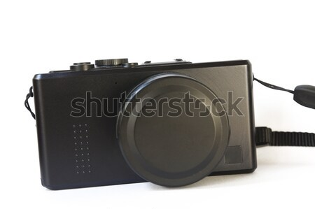 Compacto câmera digital preto digital branco profissional Foto stock © raywoo