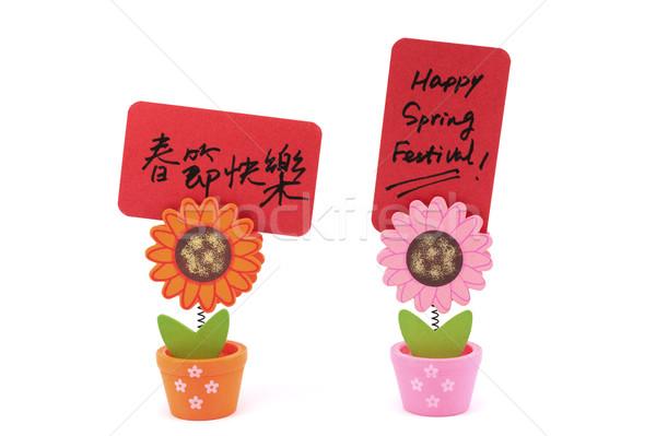 Happy Spring Festival Stock photo © raywoo