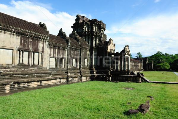 Camboja Angkor Wat templo paisagem edifício pedra Foto stock © raywoo