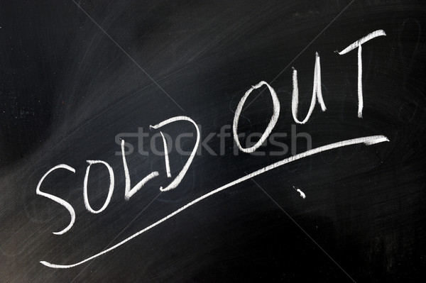 Sold out Stock photo © raywoo