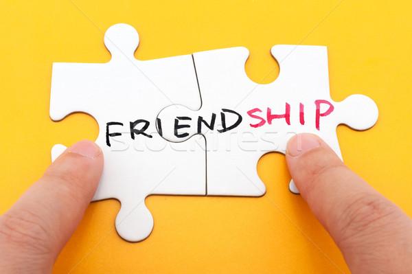 Friendship Stock photo © raywoo