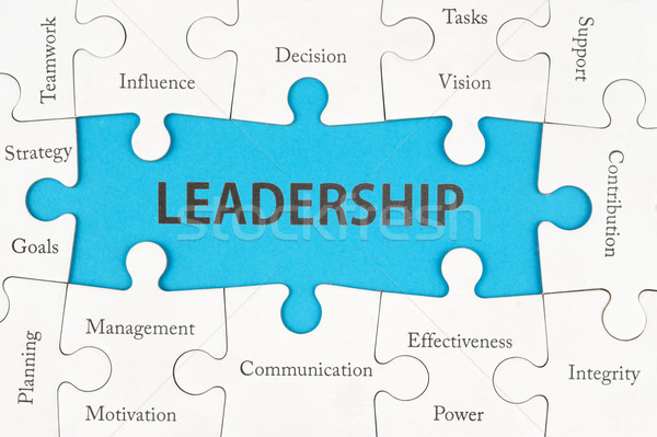 Leadership concept Stock photo © raywoo