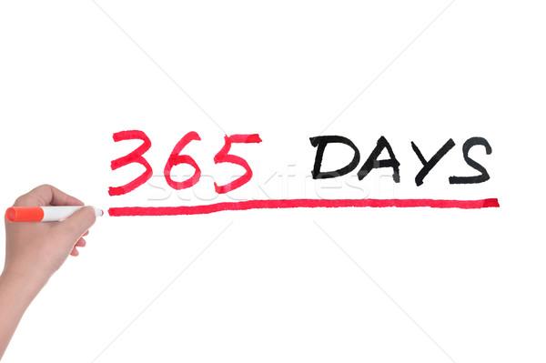 365 days Stock photo © raywoo