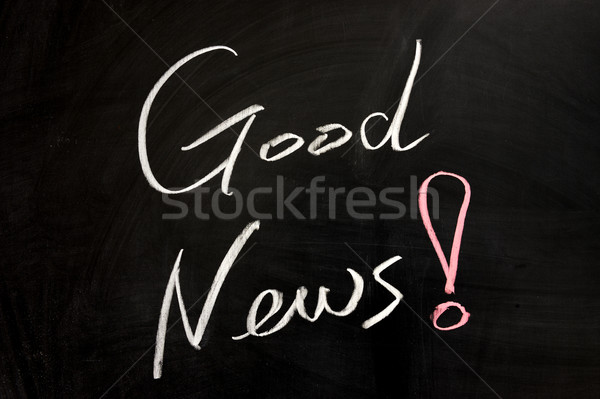 Good news Stock photo © raywoo