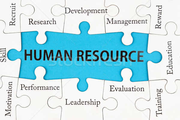 Human resource concept Stock photo © raywoo
