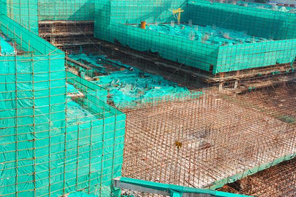 Construction site Stock photo © raywoo