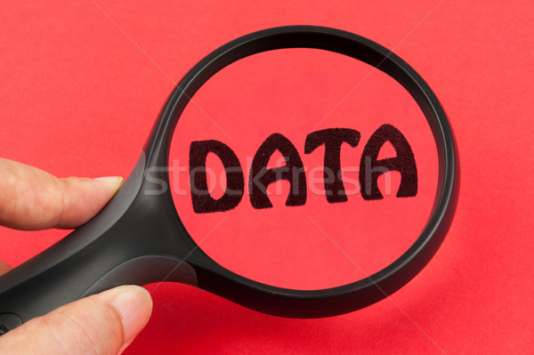 Stock photo: Searching in Data