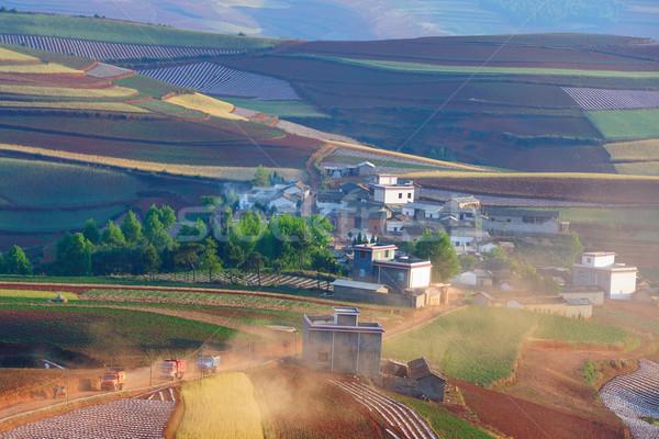 China rural landscape Stock photo © raywoo