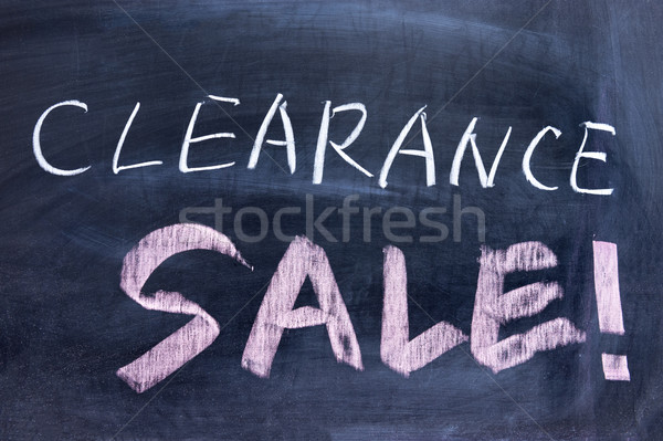 Clearance sale Stock photo © raywoo